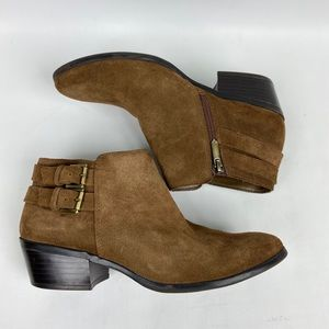 Ama Edelman Suede Ankle Boots